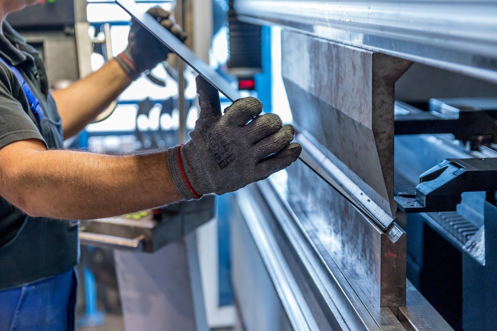 Produktion im Metallbetrieb