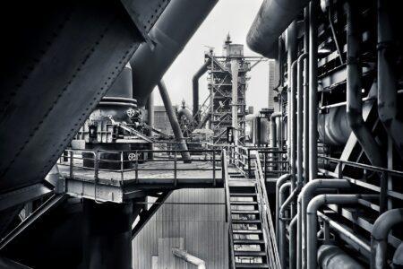Leitungssystem in der Industrie